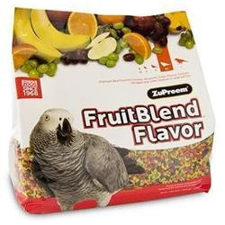 ZuPreem FruitBlend Parrot - Medium/Large 12 lbs