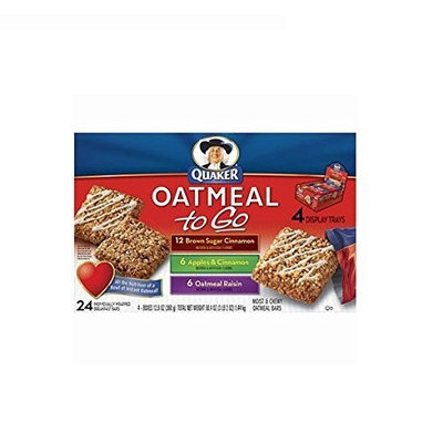 Quaker® Oatmeal To Go Variety Pack Please Note: Does Not Contain Bananna -contains Apple