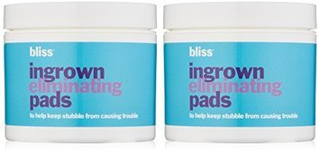bliss Ingrown Hair Eliminating Peeling Pads Set