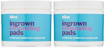 bliss Ingrown Hair Eliminating Peeling Pads Set
