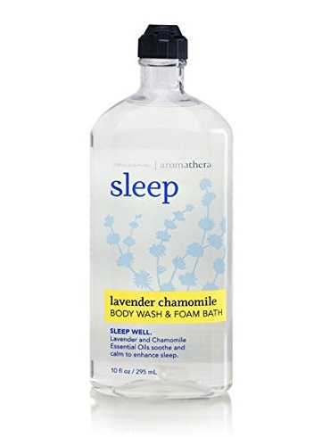 Bath & Body Works® Aromatherapy Sleep Lavender Chamomile Body Wash and Foam Bath
