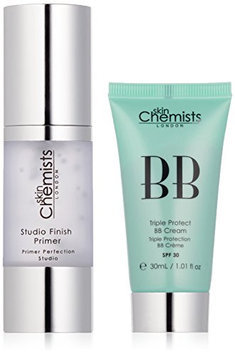skinChemists Triple Protect BB Cream with SPF 30 Light and Studio Finish Primer