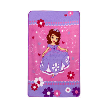 Disney Sofia the First Toddler Girl's Fleece Blanket - CROWN CRAFTS INFANT PRODUCTS, INC.