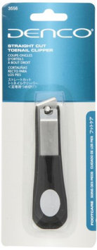Denco Straight Cut Toenail Clipper Stainless Steel