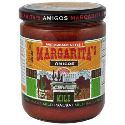 Generic Margarita's Amigos Restaurant Style Mild Salsa, 16 oz