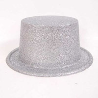 Ethahe Shining Stovepipe Costume Cap Magician Hat Gray