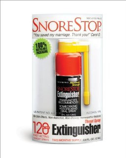Snorestop 30 Oil Free Fast-acting Throat Spray Extinguisher .2 Fl Oz.