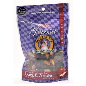 Cadet Duck and Apple Treat for Dogs, 3.6-Ounce Bag