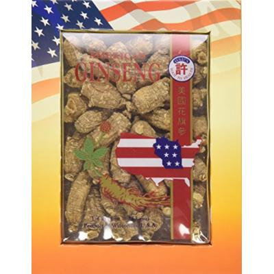 Hsu's Ginseng 113.4 Cultivated American Roots Med Small 4oz