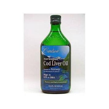 Carlson Labs - Cod Liver Oil Regular Flavor 500 ml