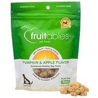 Fruitables Pumpkin & Apple Dog Treats, 7 oz