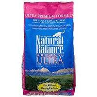 Natural Balance Ultra Premium Dry Cat Food 15 lbs