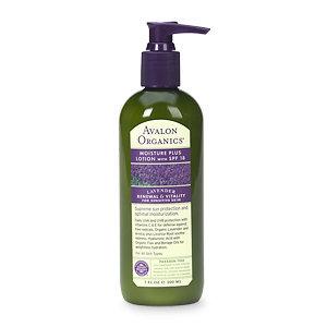Avalon Organics Lavender Moisture Plus Lotion with SPF 18