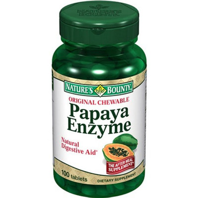 Nature's Bounty Original Chewable Papaya Enzyme