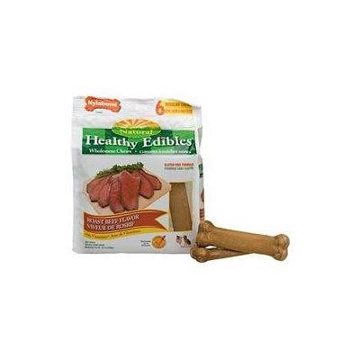 Nylabone Healthy Edibles - Roast Beef - Regular- 6 count