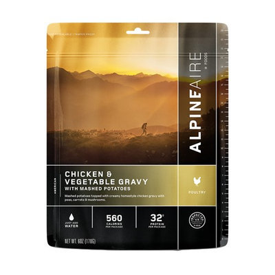 Alpine Aire Foods Chicken & Vegetable Gravy w/Mashed Potatoes