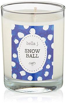 bella j. Snowball Candle