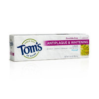 Tom's of Maine Tartar Control and Whitening Fluoride-Free Toothpaste