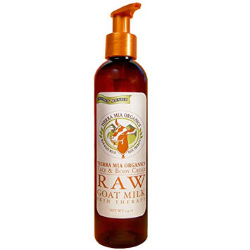 Tierra Mia Organics Raw Goat Milk Skin Therapy Face and Body Cream