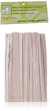 Clean Plus Easy Petite Eyebrow Wood Applicator Spatula