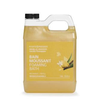 Fruits & Passion Vanilla Pineapple Foaming Bath Cream Refill