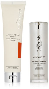 skinChemists Advanced Pro-5 Collagen Lifting and Firming Serum and Advanced Breast Booster