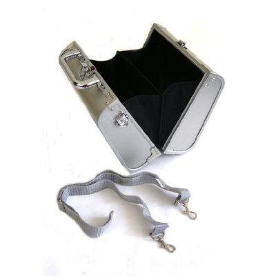 Rucci Handbag Aluminum Cosmetic Case