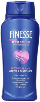 Finesse Self Adjusting 2 In 1 Moisturizing Shampoo and Conditioner Unisex