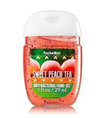Bath & Body Works® PocketBac SWEET PEACH TEA Anti-Bacterial Hand Gel