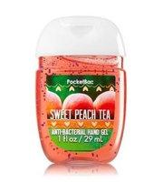 Bath & Body Works PocketBac SWEET PEACH TEA Anti-Bacterial Hand Gel
