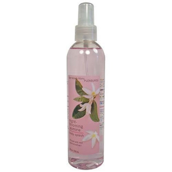 Bath & Body Works Pleasures Night Blooming Jasmine Body Splash 8 oz