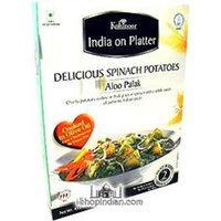 Kohinoor Heat Eat Potato with Spinach Curry ~ Aloo Palak (Aloo Palak)