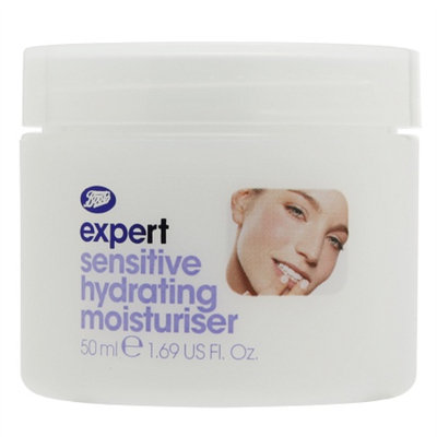 Boots Expert Sensitive Hydrating Moisturiser, 1.6 fl oz
