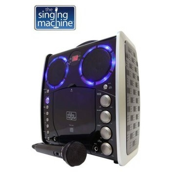 Singing Machine The  Vertical Load CDG Karaoke - Black (SML-383)