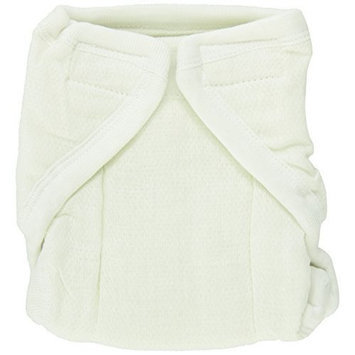 Dappi Pinless Cloth Diaper Bundle, White, Large (Discontinued by Manufacturer)