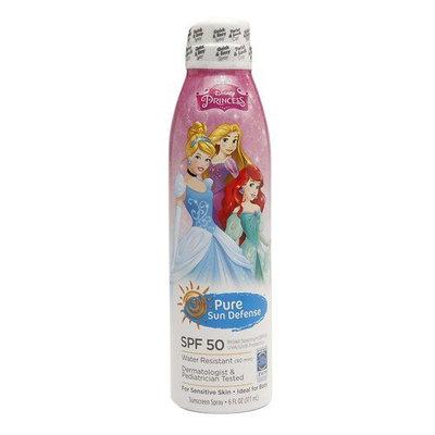 Pure Sun Defense Disney Princess Sunscreen Spray SPF 50