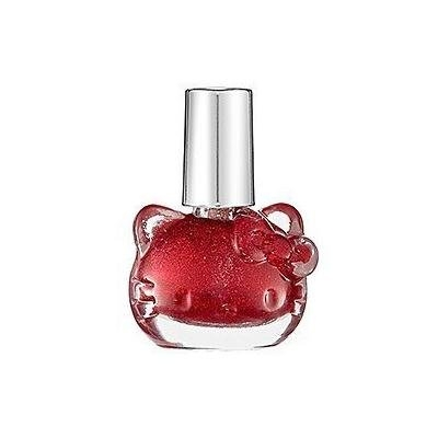 Hello Kitty Nail Polish Red Sparkle LIMITED EDITION