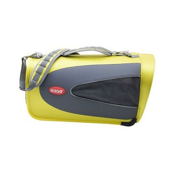 Teafco Argo Petascope Airline Approved Pet Carrier in Sherbet Yellow Size: Small