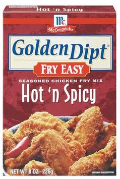 McCormick® Golden Dipt® Hot 'N Spicy Chicken Fry Mix