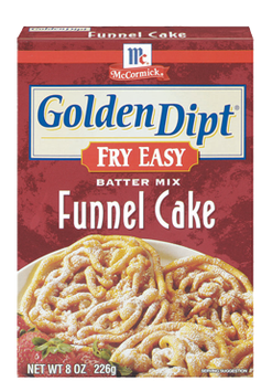 McCormick® Golden Dipt® Funnel Cake Batter Mix