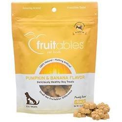 Fruitables Pumpkin & Banana Dog Treats, 7 oz