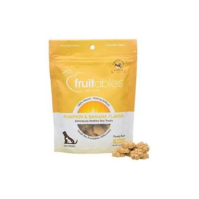 Fruitables Pumpkin & Banana Dog Treats, 7 oz