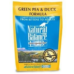 Natural Balance LID Duck Dry Cat Food 10lb