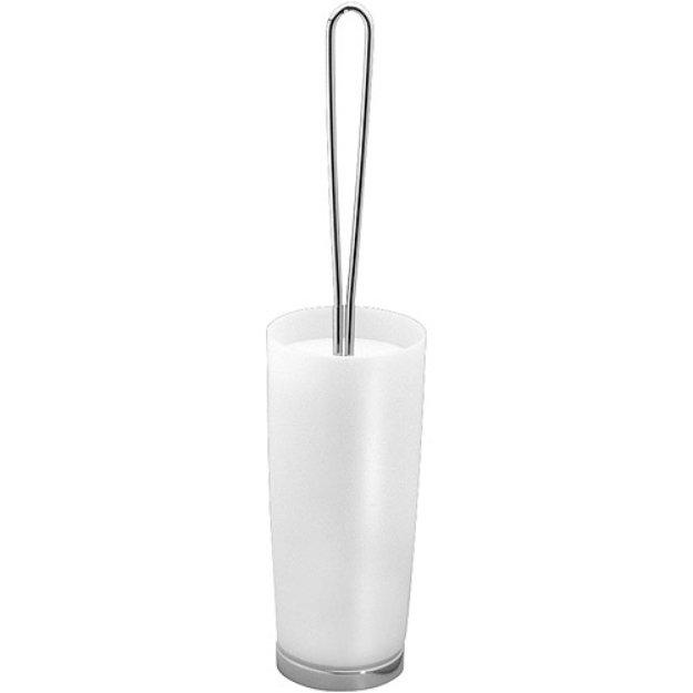 InterDesign Aria Clear Toilet Bowl Brush