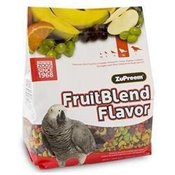 ZuPreem AvianMaintenance FruitBlend Premium Bird Diet for Medium & Large Birds