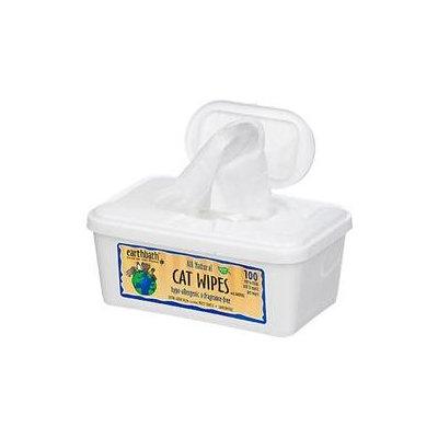 Earthbath Hypo-Allergenic Cat Wipes - 100 ct