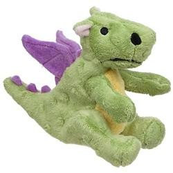 Sherpa Pet Group Go Dog Toys Baby Dragon Mini W/Chewguard - Lime Green