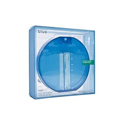 Inferno Paradiso Blue By Benetton For Men. Eau De Toilette Spray 3.3 Ounces