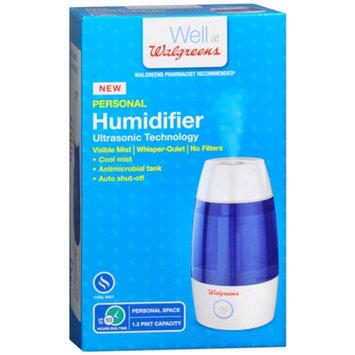 Walgreens Compact Personal Humidifier Ultrasonic Technology, 1 ea