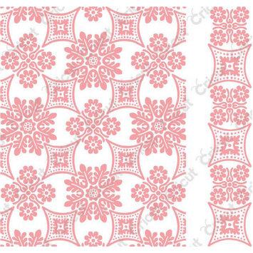 Provo Craft & Novelty Inc. Cuttlebug A2 Embossing Folder/Border Set-Anna Griffin Foulard